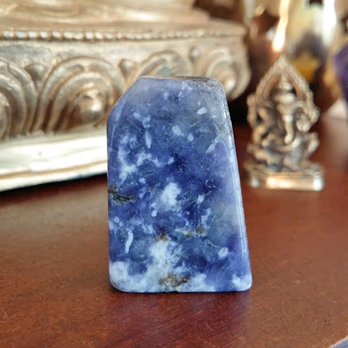 Blue Scapolite Crystal