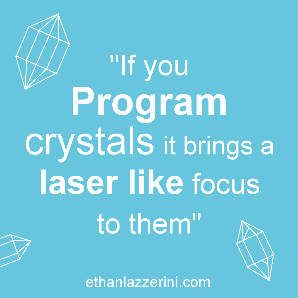Program crystals quote