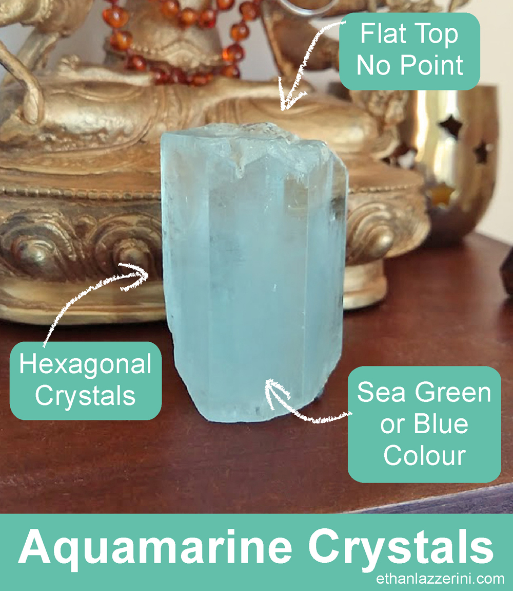 How to identify if it Is an Aquamarine crystal
