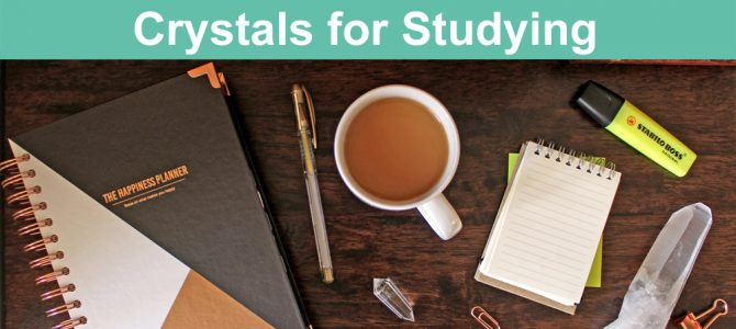 Crystals for Studying, Mental Focus and Memory