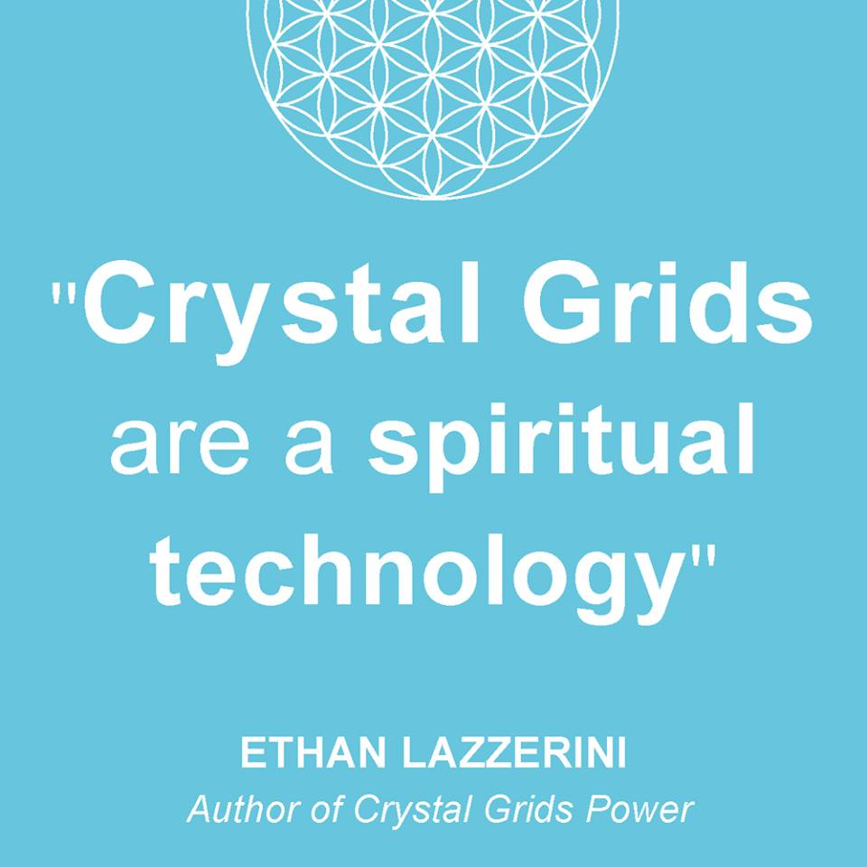 Crystals Grids are a spiritual technology