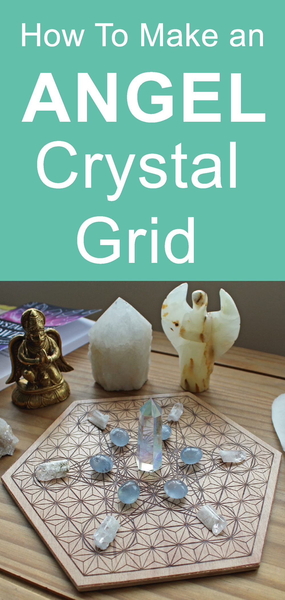 Crystal Grid to connect with angels