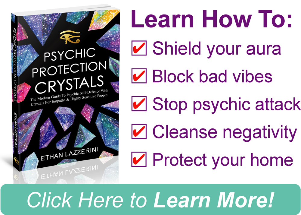 Psychic protection crystals book 2