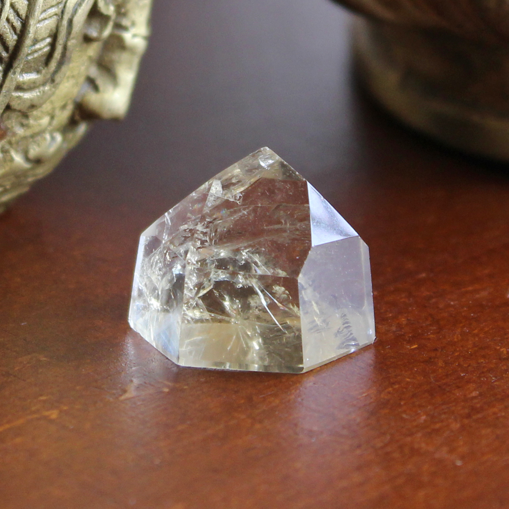 Polished Citrine Crystals Point