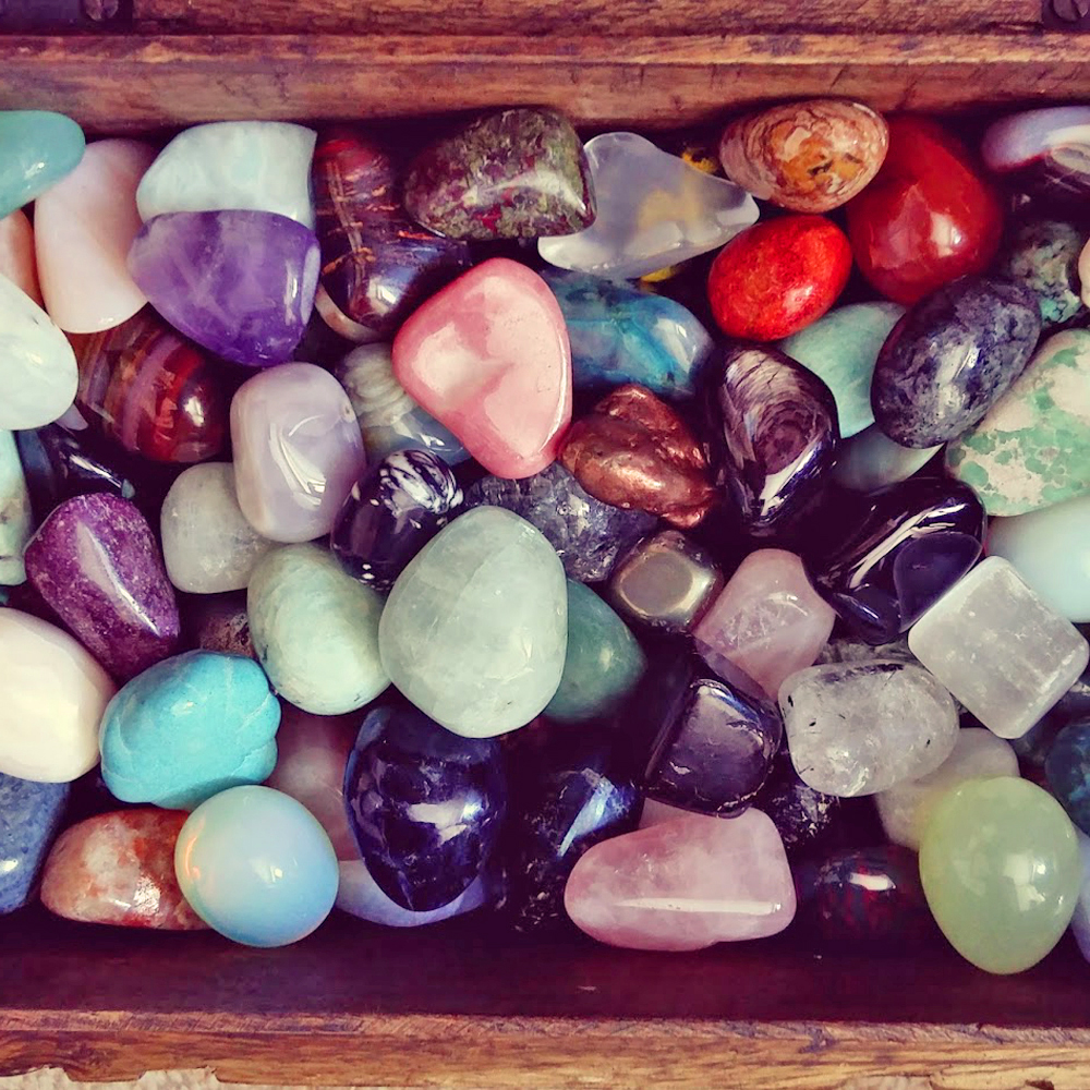 Lots of tumble stones