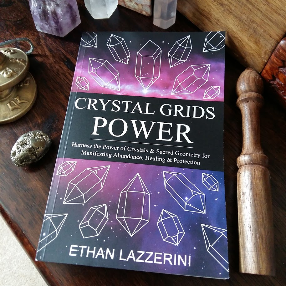 My book Crystal Grids Power