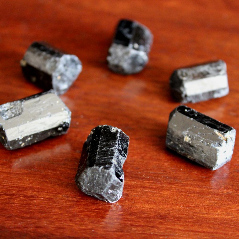 Black Tourmaline crystal grid