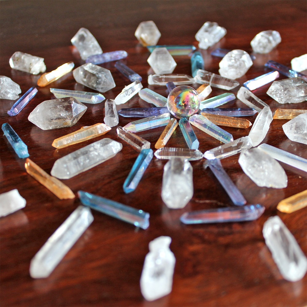Crystal grids are all about intentions