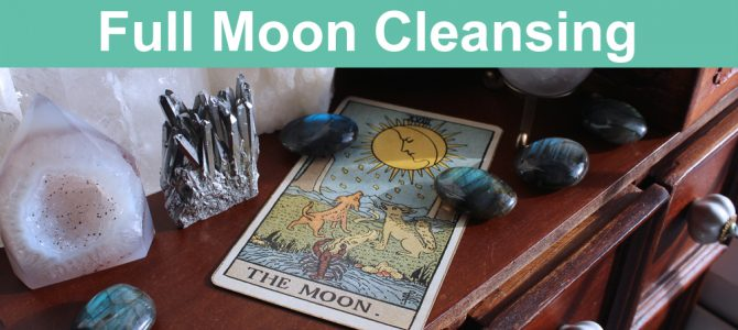 How To Cleanse Crystals By The Full Moon
