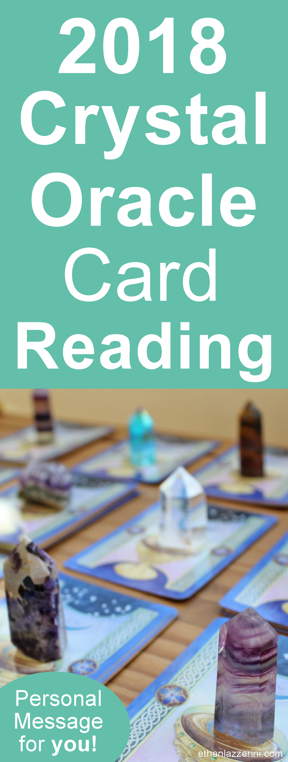 Crystal Oracle Card Reading for 2018