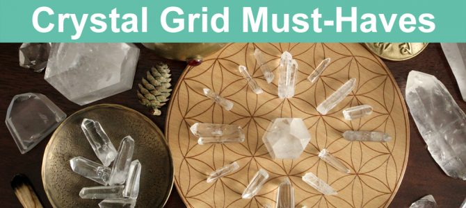 Must Have Crystals For Crystal Grids