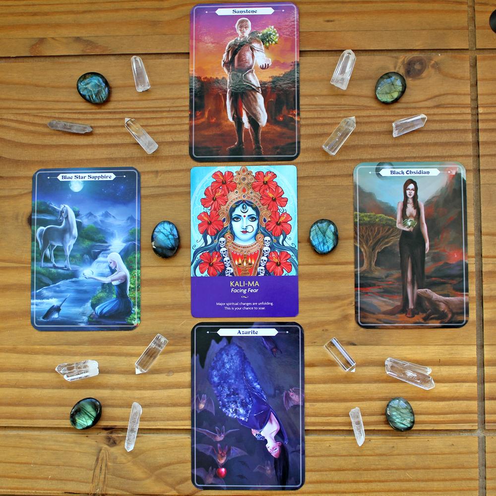 Oracle card reading for 2018