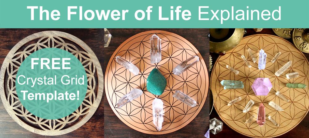 Flower Of Life Crystal Grid Meaning Free Template Ethan Lazzerini