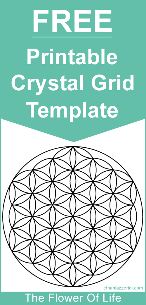free printable crystal grid template