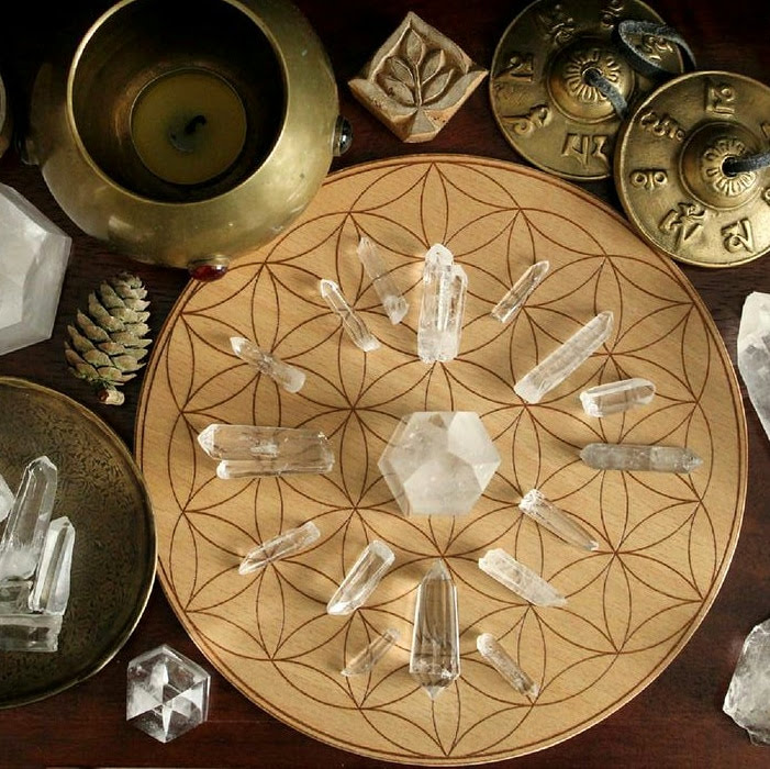 Is your crystal grid surrounded by clutter?