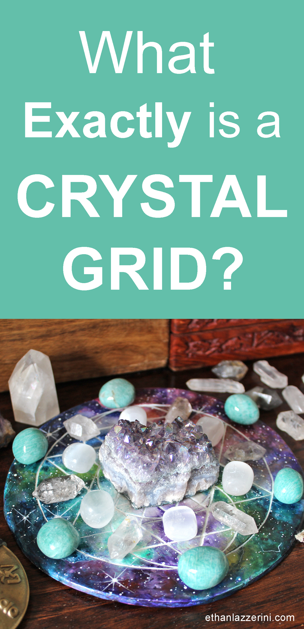 What is a crystal grid?