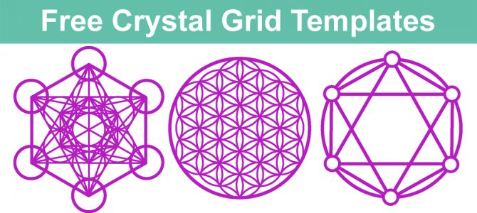 Free Crystal Grid Templates to download and print