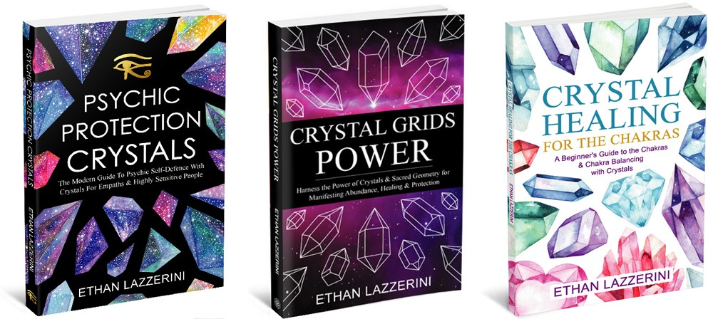 Crystal books by Ethan Lazzerini