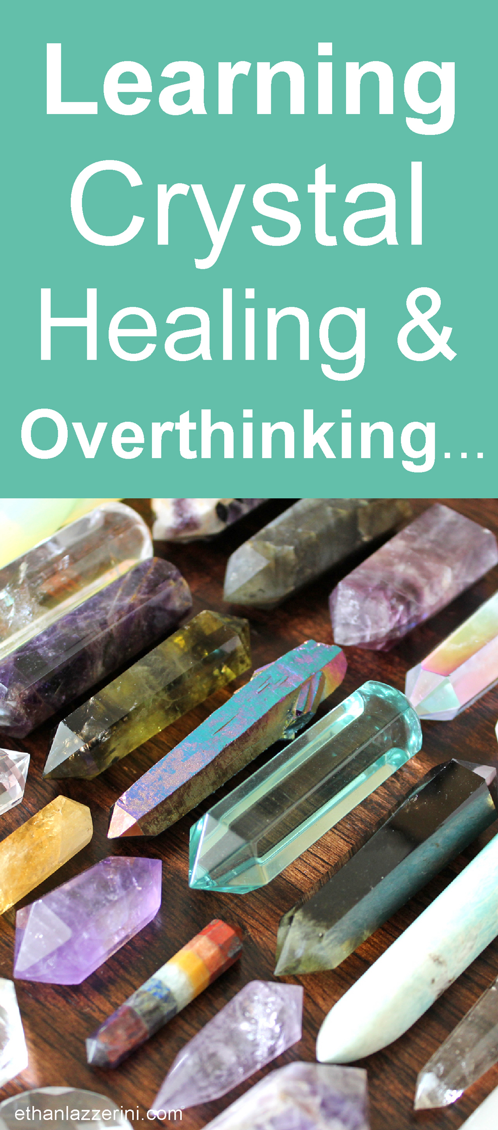 Learning crystal healing