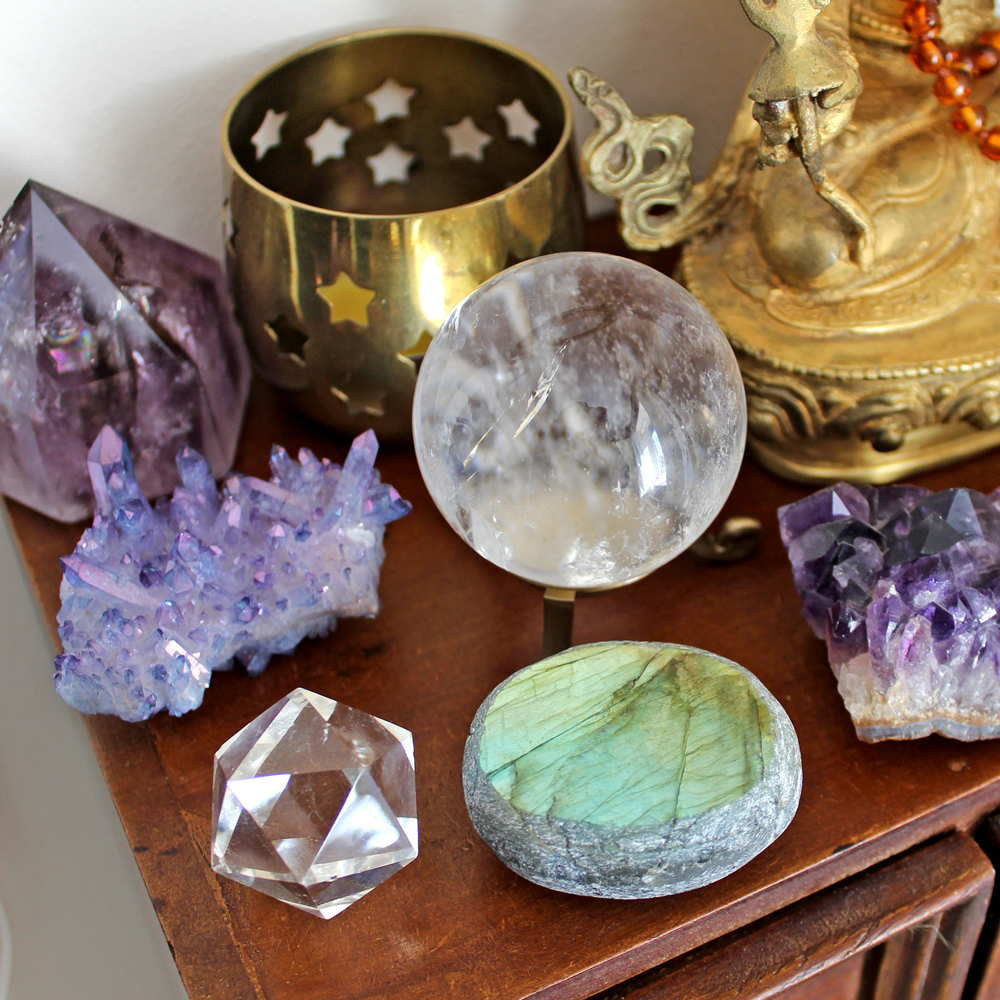 Crystals for psychic development and enhancing intuition
