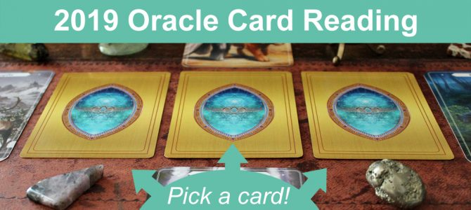 2019 Reading For The Year Ahead (pick a card)