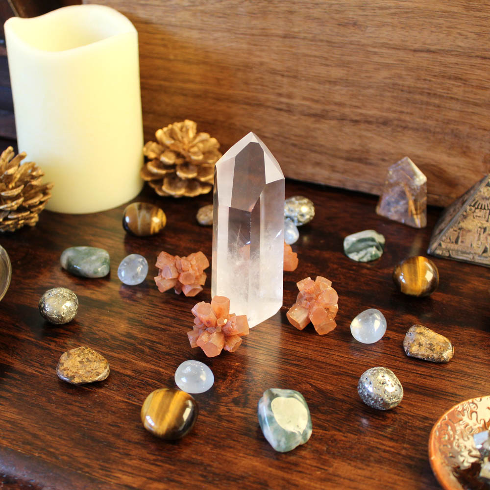 Crystals for winter solstice