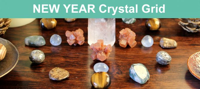 New Year Intentions Crystal Grid – Kick-start your new year!