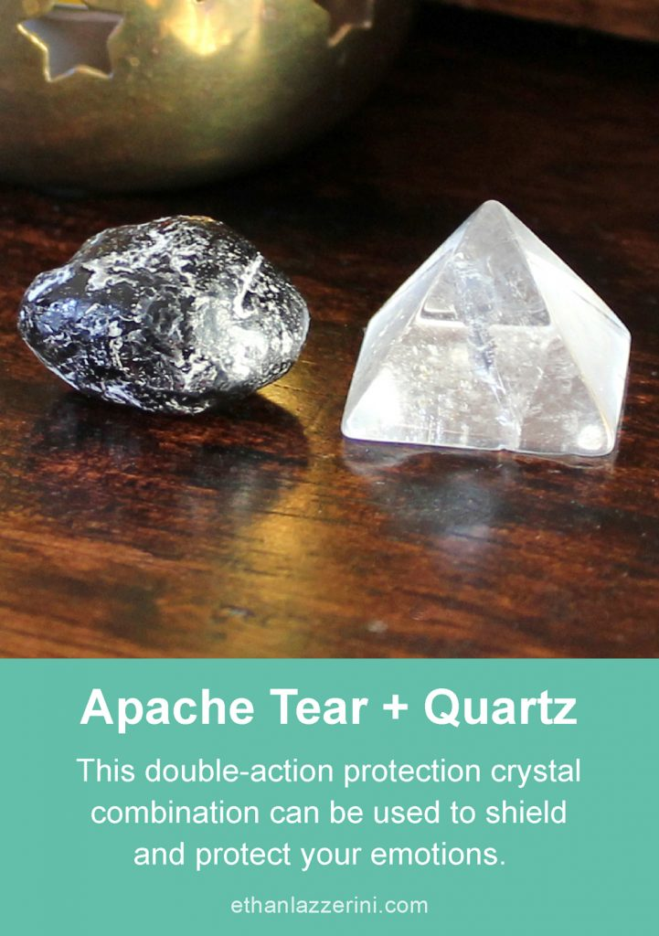 Protection Crystal Combinations - 5 Powerful crystal pairs & trios
