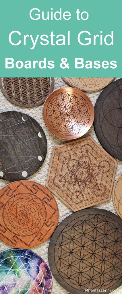 crystal grid board