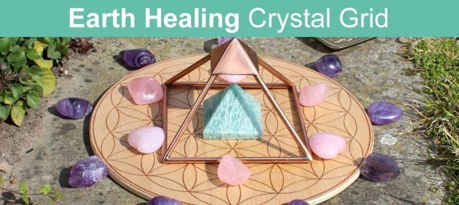 Crystal Grid To Heal The Earth After Tragedy & Disaster