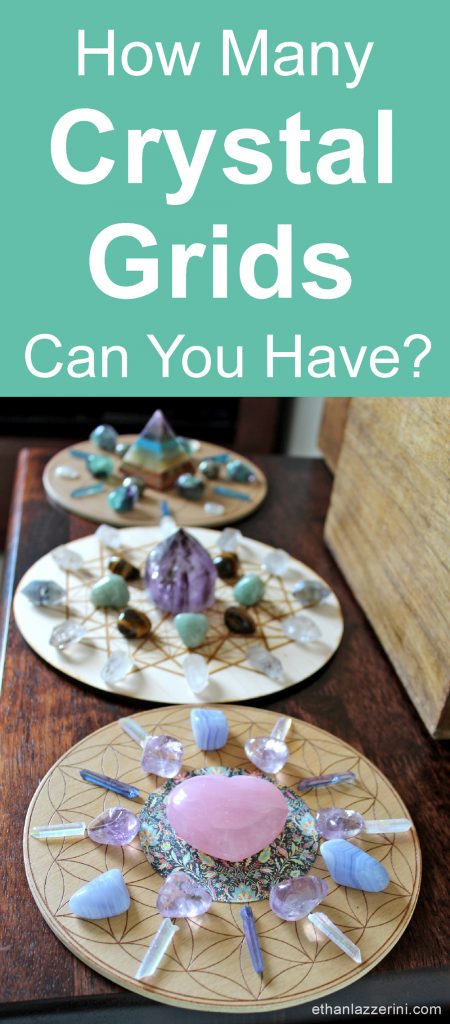 More than one crystal grid