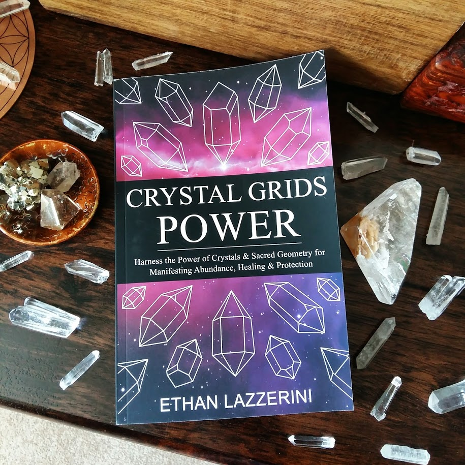 Crystal Grids Power book by Ethan Lazzerini