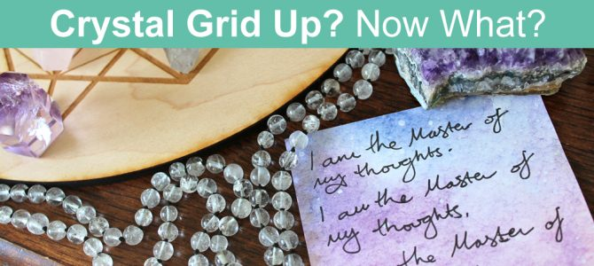 What To Do After You Make a Crystal Grid