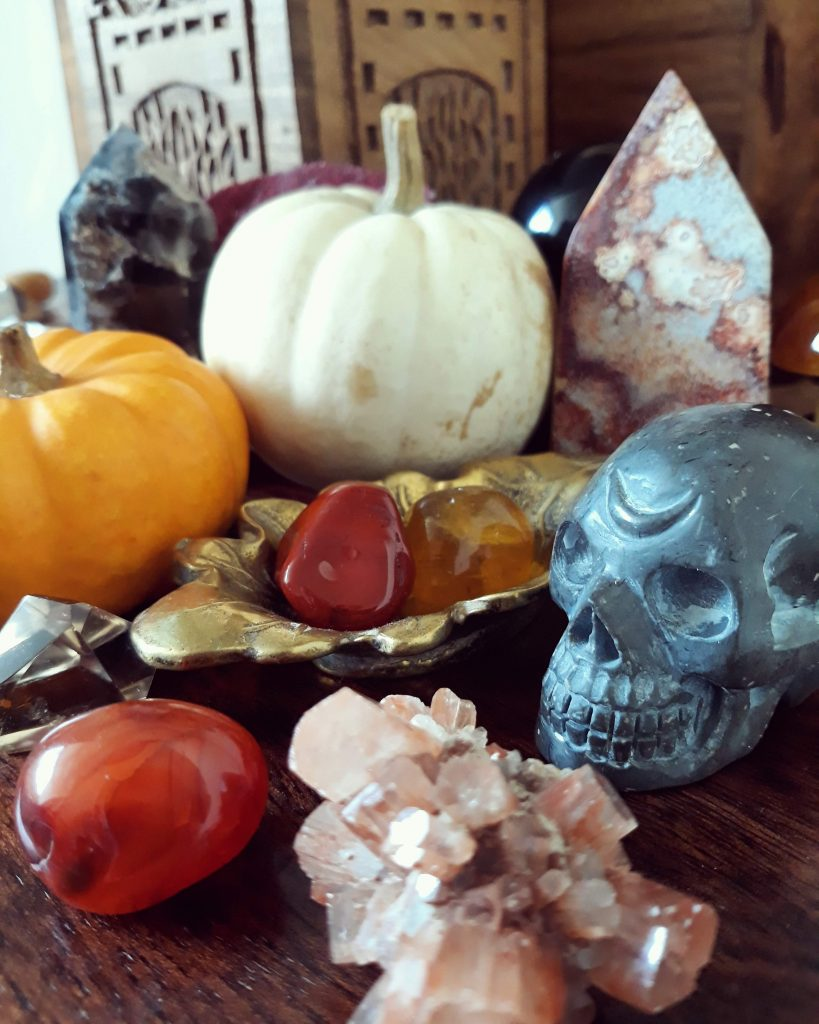 crystals for autumn