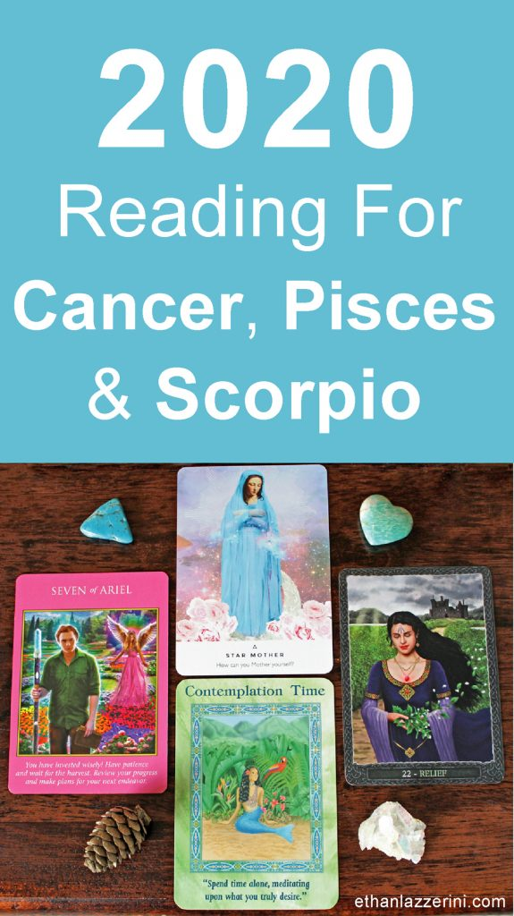 2020 Tarot card reading water signs