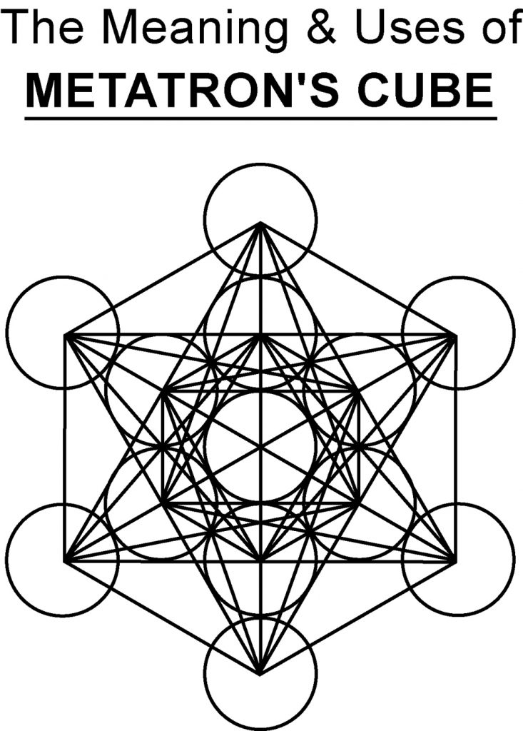 Metatrons cube illustration