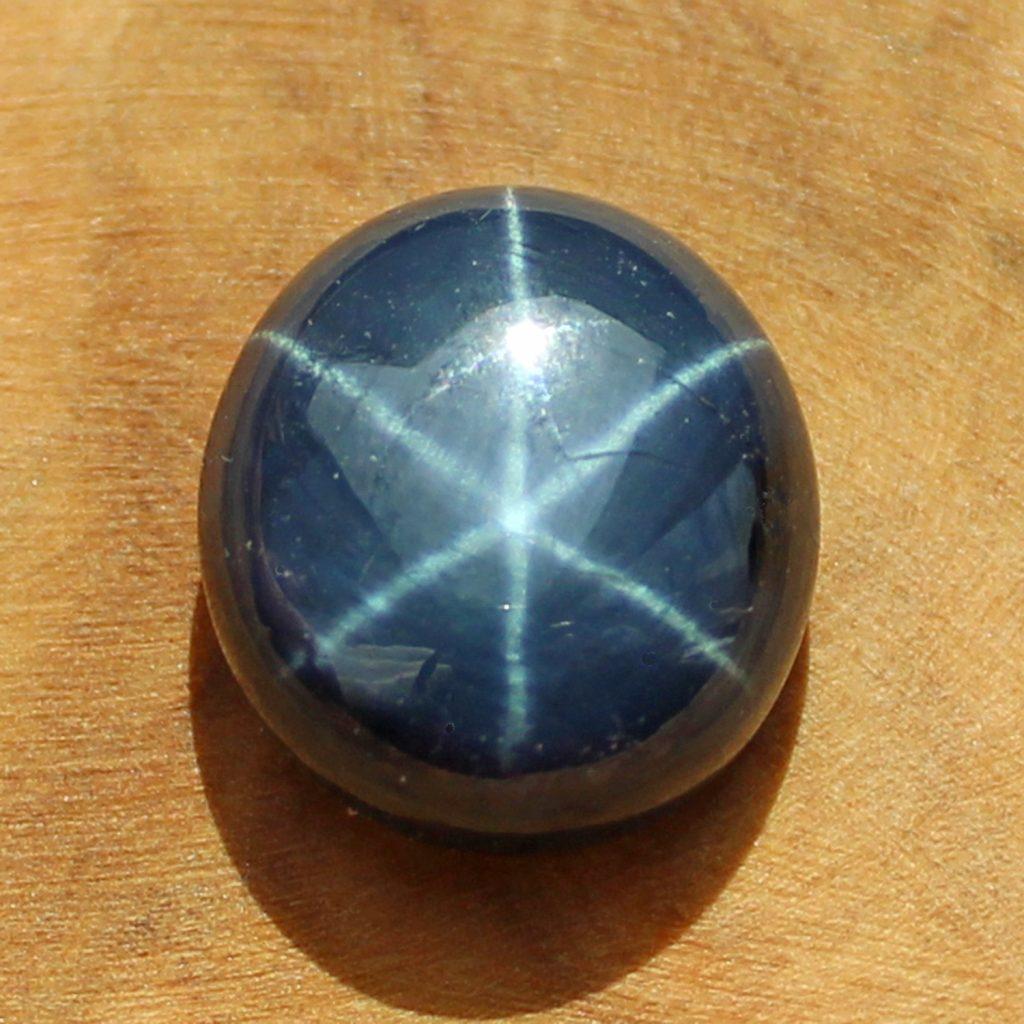 Blue Star Sapphire cabochon