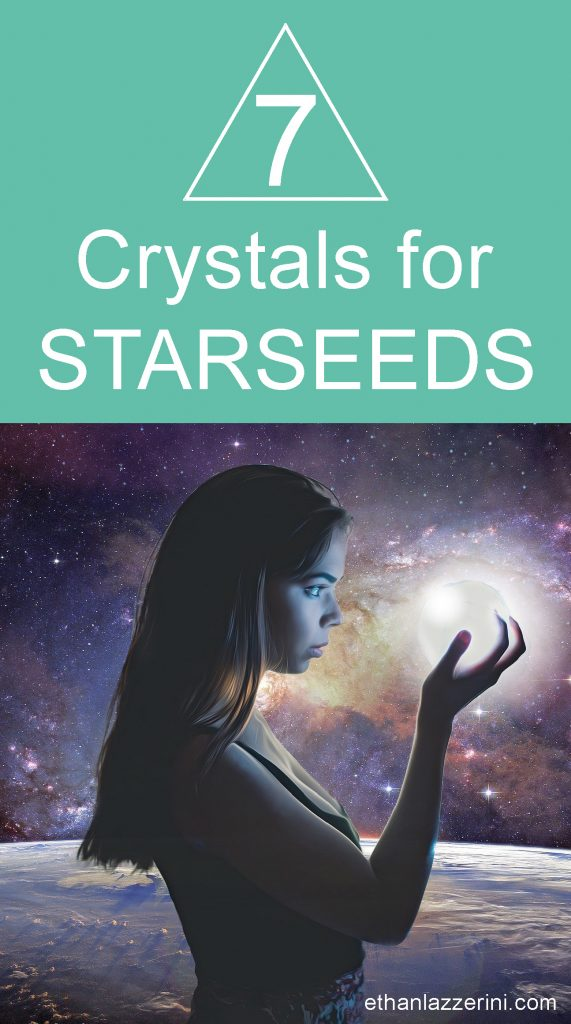 7 crystals for starseeds. Cosmic girl