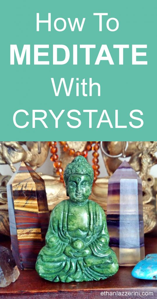 Crystal Buddha - How to meditate with crystals