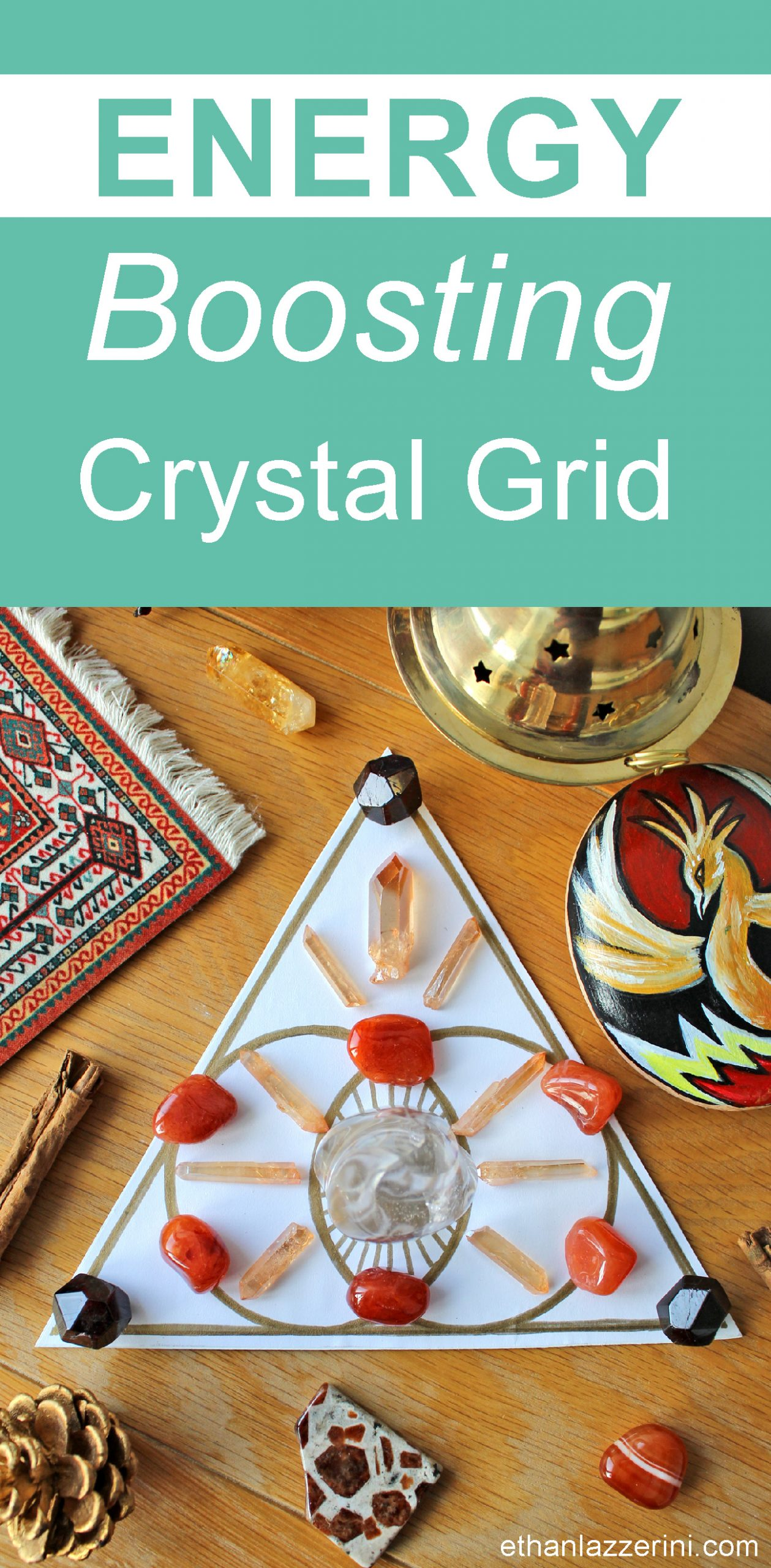 Crystal grid for energy