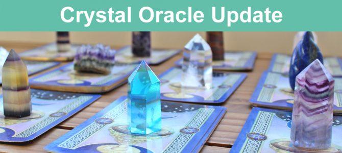 Crystal Oracle Cards Update