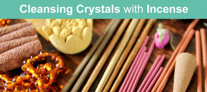 How To Cleanse Crystals With Incense (alternatives to sage & palo santo )