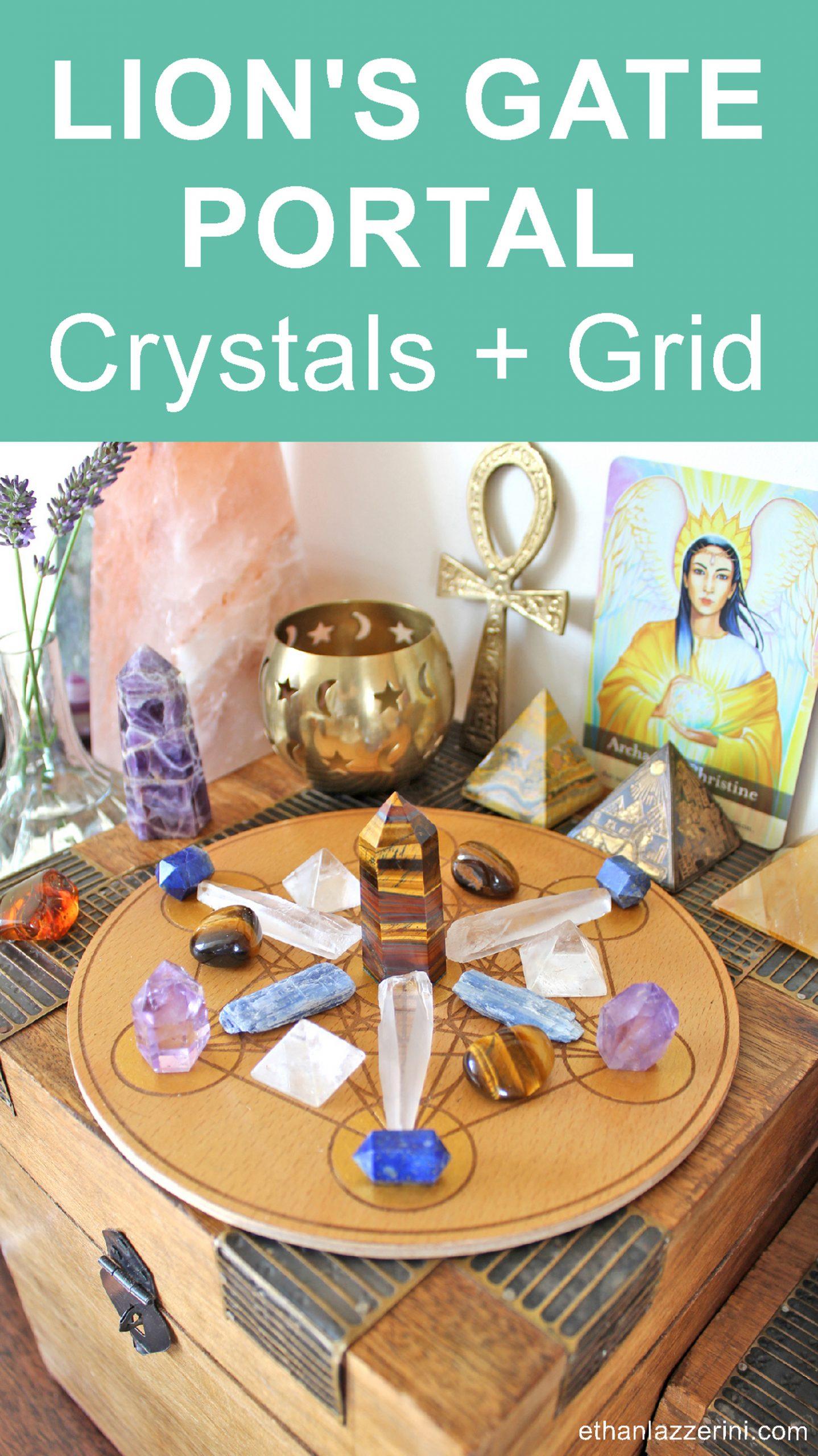 Lion's gate portal crystal grid