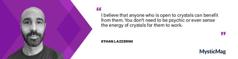 Ethan Lazzerini interview